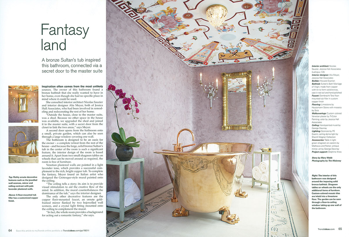 Trends magazine s june bathroom issue as one of the best bathrooms